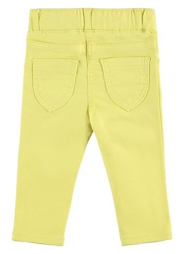 Civil Baby Kız Bebek Keten Pantolon  Sarı